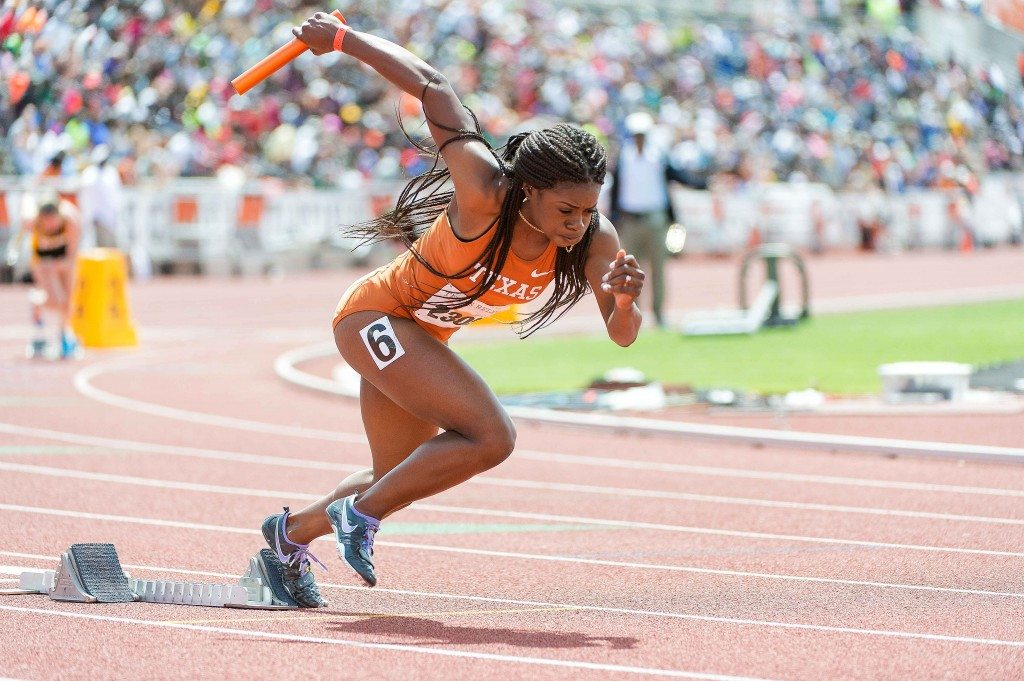 Morgan Snow at the 2014 Texas Relays (Photo: Jesse Drohen)