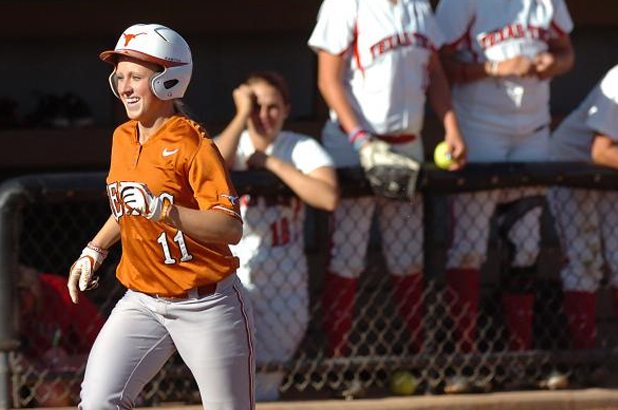 Senior shortstop hit .727, blasted three home runs and drove in nine RBIs, propelling UT to a 3-1 week.