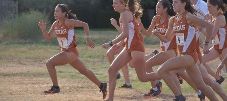 For the first time in two years, the University of Texas men's and women's cross country teams are ranked among the top 30 teams in the nation (photo courtesy of texassports.com).
