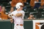 Freshman Kody Clemens hit a home run in each of the Longhorns' victories at Kansas State (photo courtesy of texassports.com).