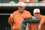 Texas baseball head coach Augie Garrido is one of the most accomplished coaches in the nation, with five national championships and six national coach of the year awards (photo courtesy of texassports.com).