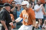 Kacy Clemens was the Longhorns' leading hitter in 2016, with a .303 batting average (photo courtesy of texassports.com).