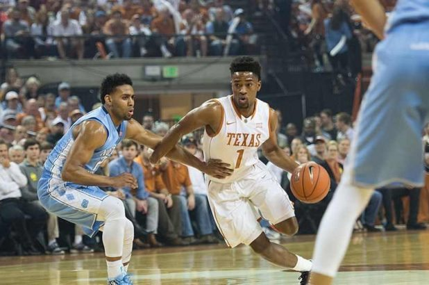 Isaiah Taylor, who led the Texas men's basketball team in points, assists and minutes played as a junior last season, reportedly has signed as an undrafted free agent with the Houston Rockets (photo courtesy of texassports.com).