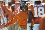 Nearly five months after national signing day, Texas football head coach Charlie Strong has added three elite prospects to the Longhorns' 2016 signing class (photo courtesy of texassports.com).