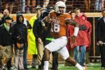 It appears the race for the starting quarterback position is being whittled down to a battle between senior Tyrone Swoopes (above) and true freshman Shane Buechele (photo courtesy of texassports.com).