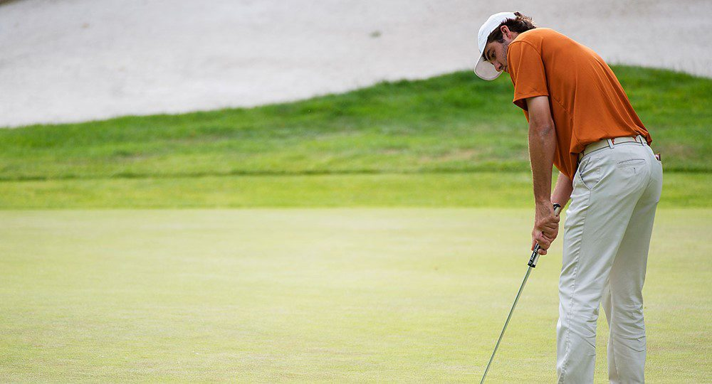 University of Texas golfer Scottie Scheffler is one of just three college players from the United States chosen to compete in the World Amateur Team Championship (photo courtesy of texassports.com).