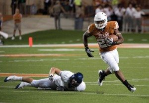 SOPHOMORE MALCOM BROWN, TEXAS RUNNING BACK