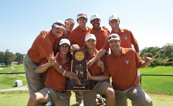 UT GOLF TEAM WINS NATIONAL CHAMPIONSHIP