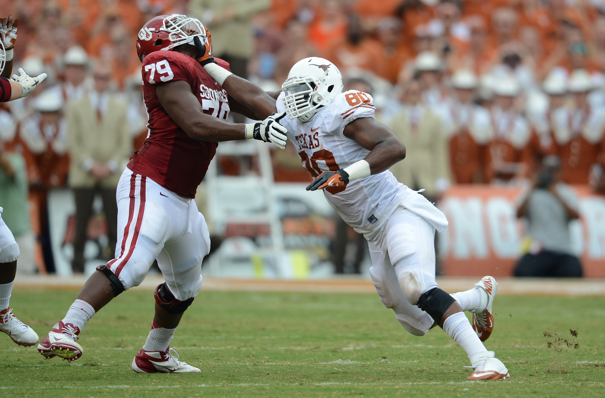 NCAA Football: Texas vs Oklahoma
