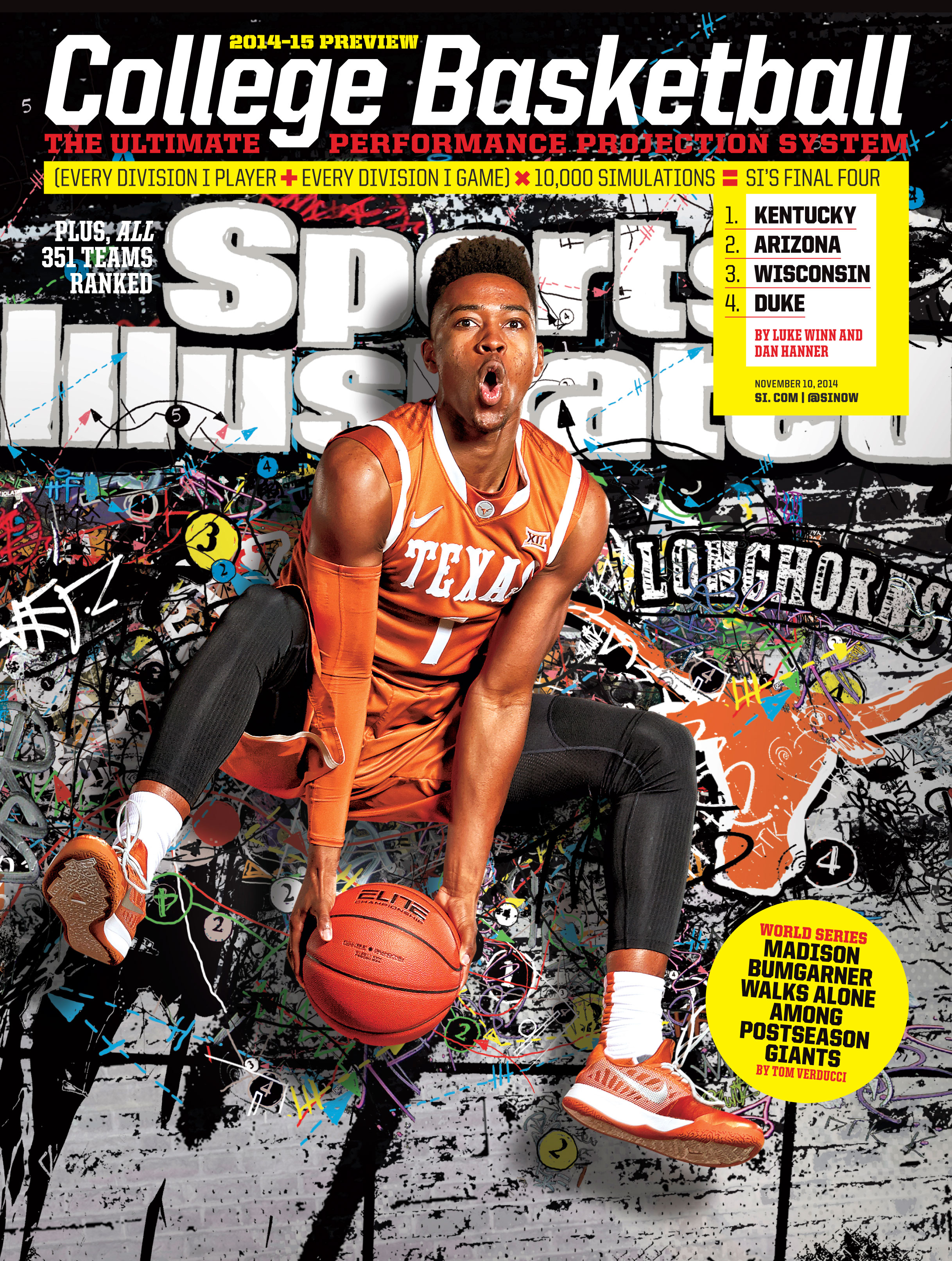 Texas Basketball's Isaiah Taylor Appears on Sports Illustrated Regional Cover for Magazine's ...