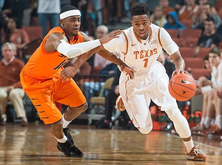 Isaiah Taylor against Oklahoma State (Photo: courtesy UT Athletics Photography).