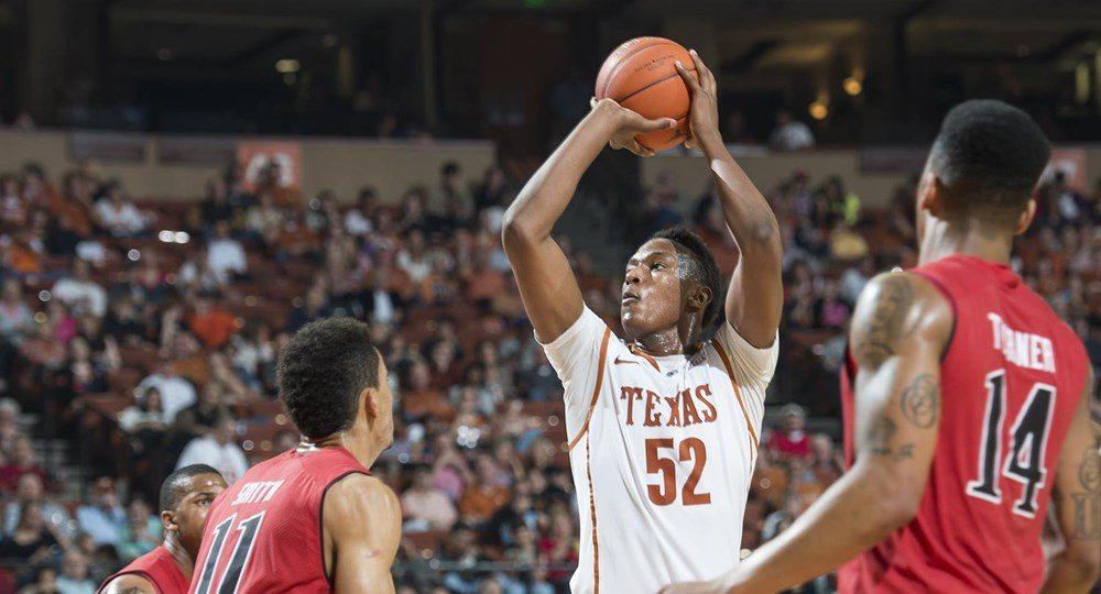 Myles Turner (Photo: courtesy UT Athletics Photography).
