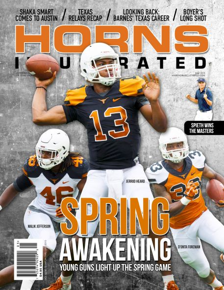 MAY 2015 HORNS ILLUSTRATED COVER