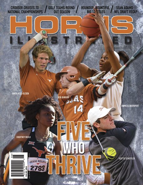 Horns Illustrated June 2015 Issue Cover