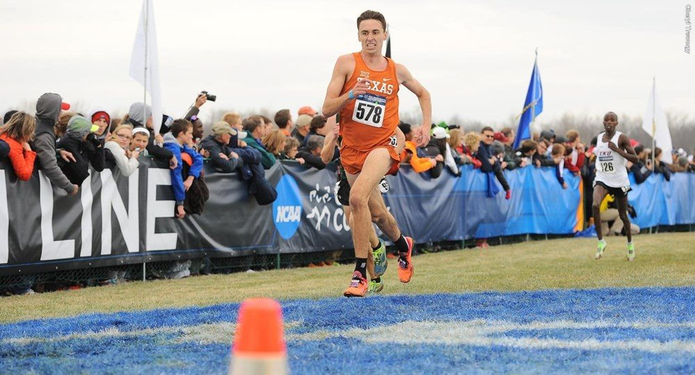 Texas senior Ryan Turnbull was named Big 12 Runner of the Week after helping the Longhorns win the Texas A&M Invitational (photo courtesy of texassports.com).