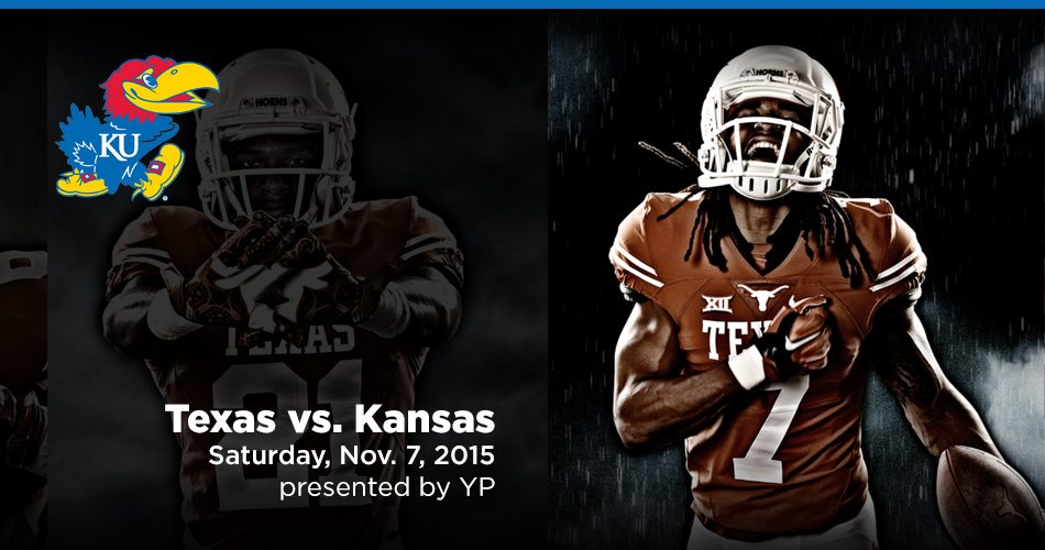 Texas Football Gameday FAQs- Kansas (Nov. 7)