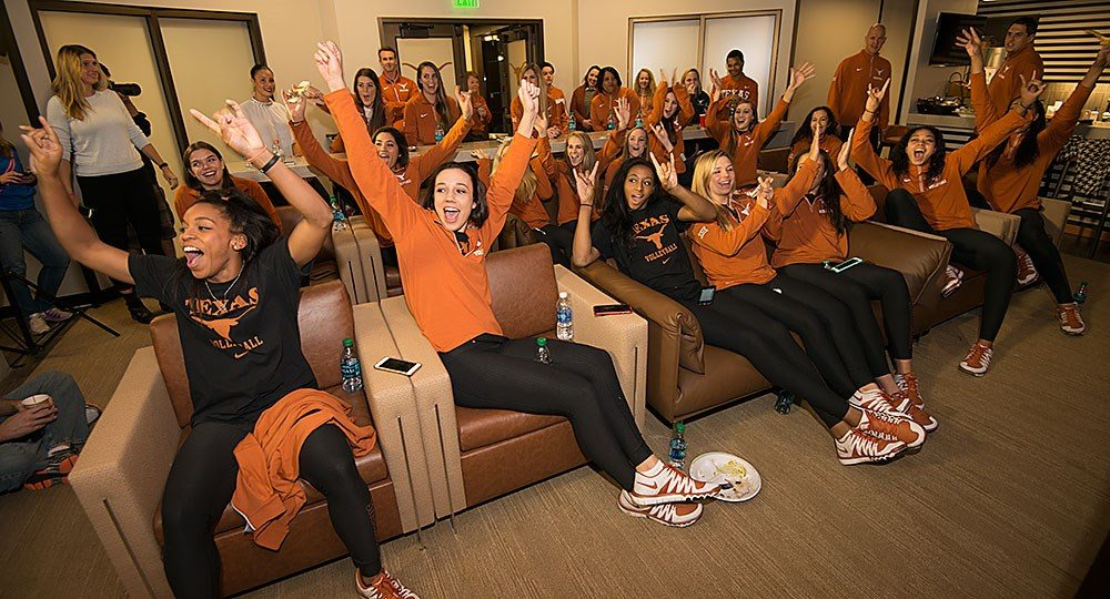 Texas Volleyball selected No. 3 overall seed in 2015 NCAA Tournament