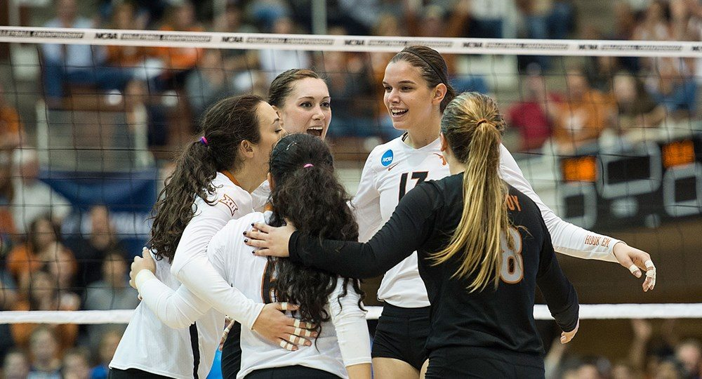 No. 3 Texas Volleyball advances to NCAA Regional Final with 3-1 win against UCLA
