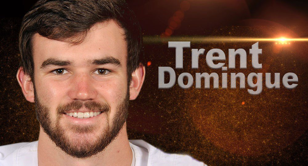 The University of Texas football team welcomed its fifth newcomer of the summer when former LSU kicker Trent Domingue announced he was transferring to UT as a graduate assistant (photo graphic courtesy of texassports.com).