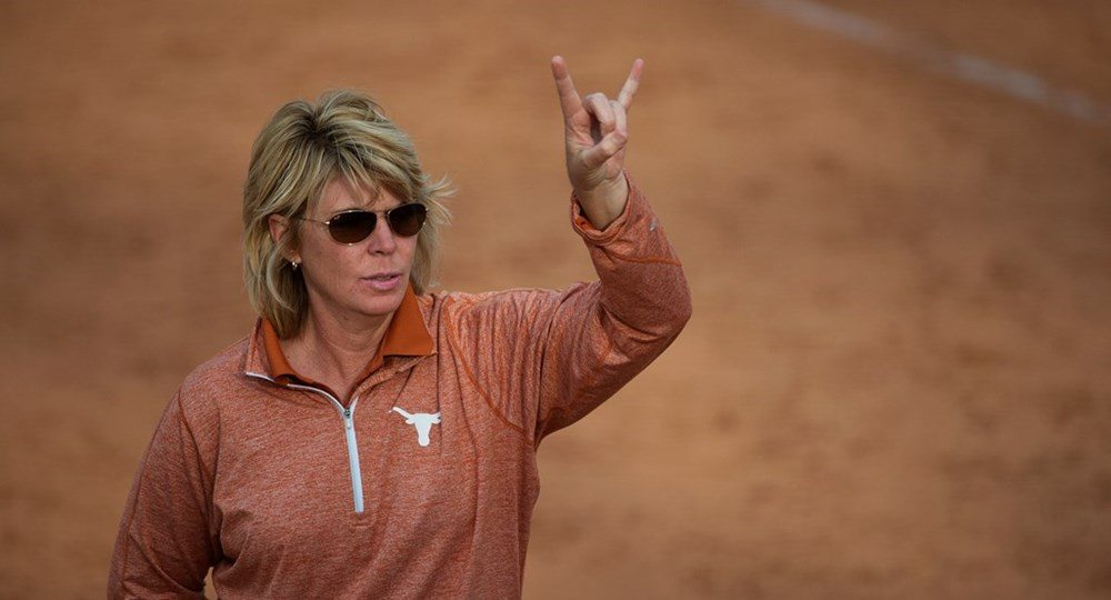 Texas softball head coach Connie Clark filled out her coaching staff with the addition of assistant coach Tripp MacKay (photo courtesy of texassports.com).