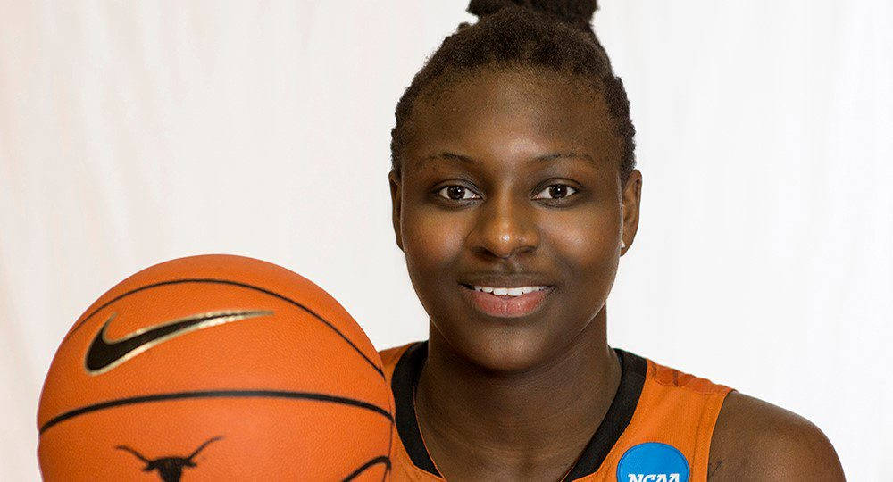 Forward Rellah Boothe became the second player ranked by ESPN.com among the top four players in the nation to sign with the Texas women's basketball program (photo courtesy of texassports.com).
