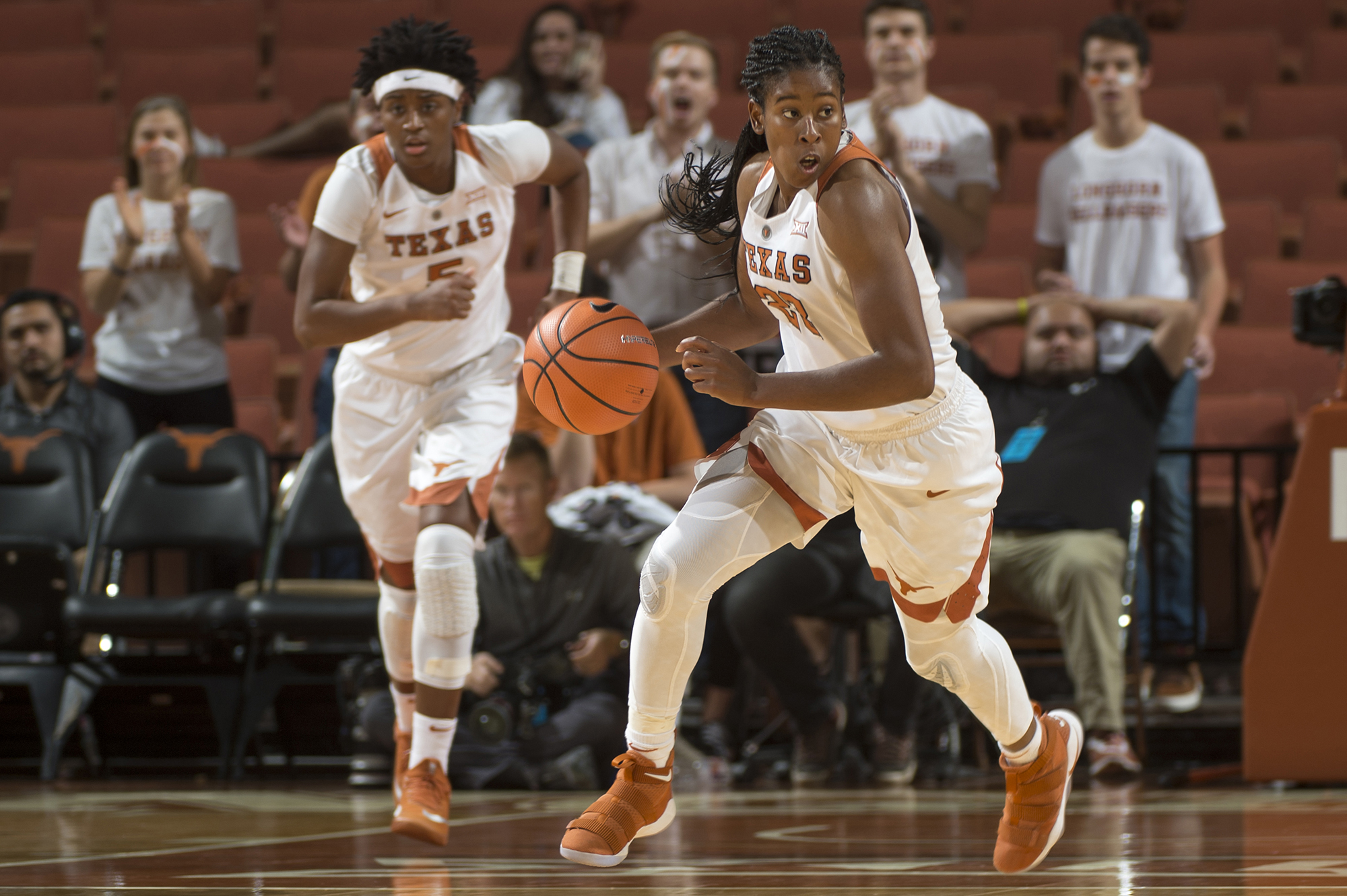 Texas women's basketball crushes Maine in NCAA first round ...