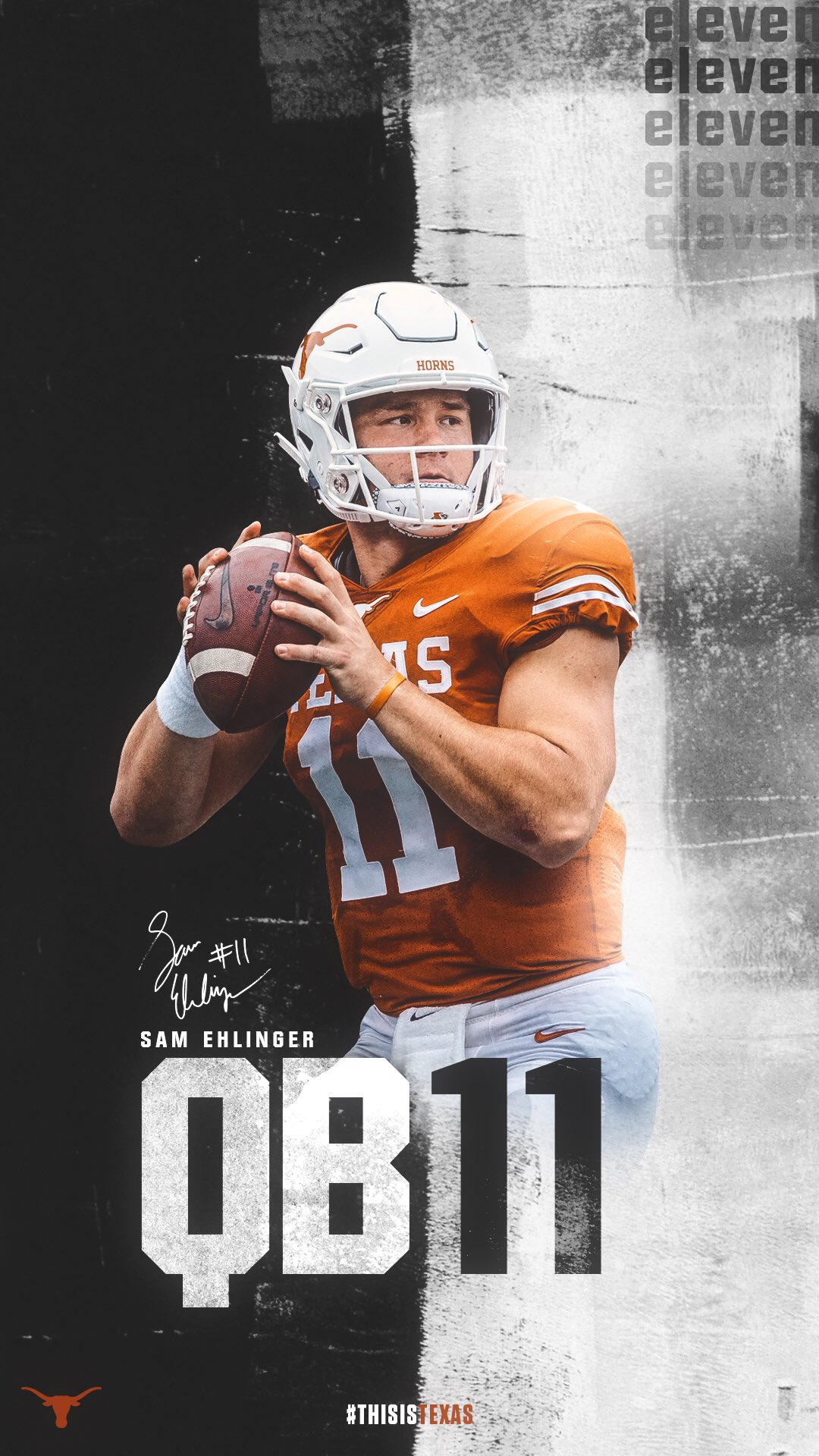 Sam Ehlinger Texas Football Wallpaper