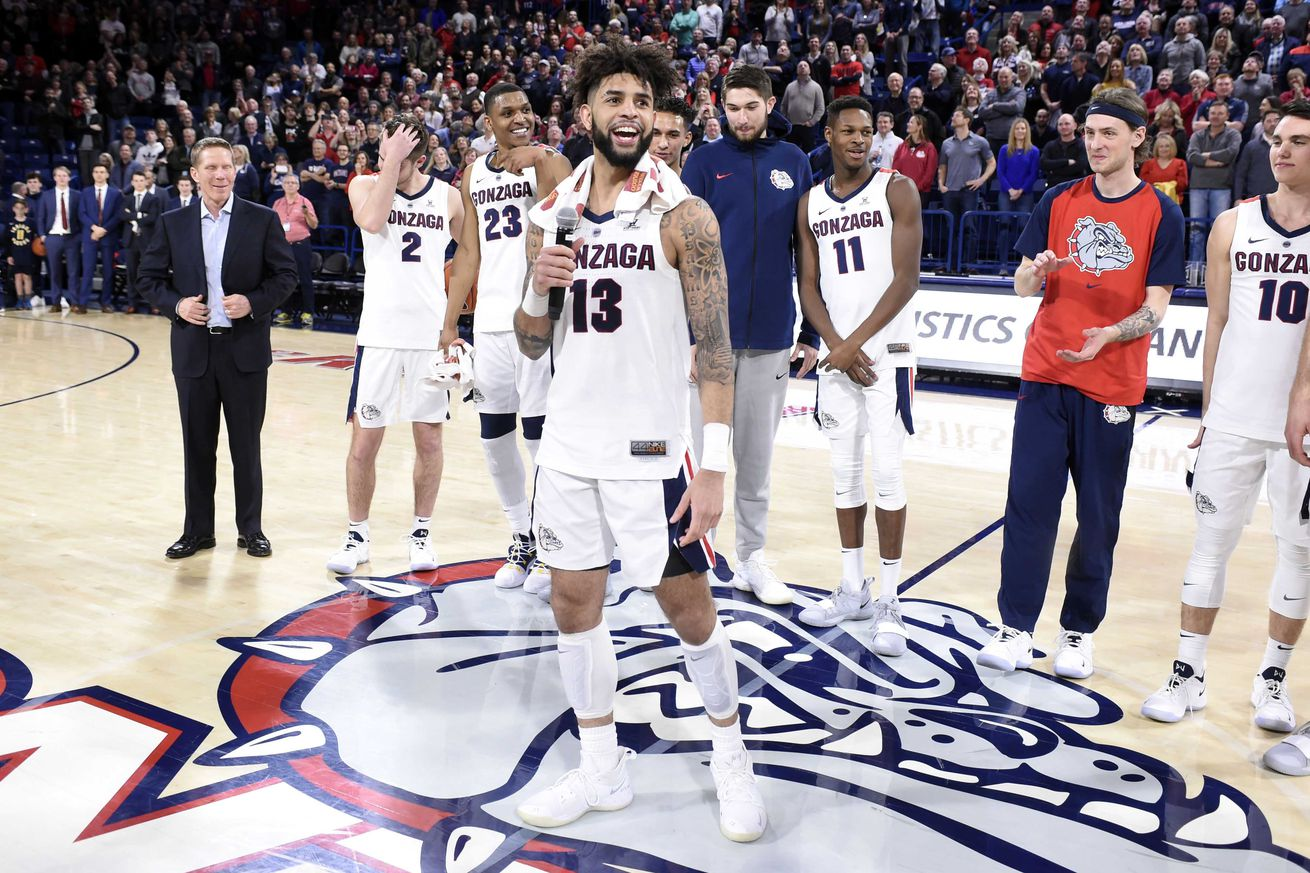 Ncaa Basketball Rankings Gonzaga Reclaims No 1 In The Ap
