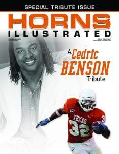Cedric Benson Tribute Issue