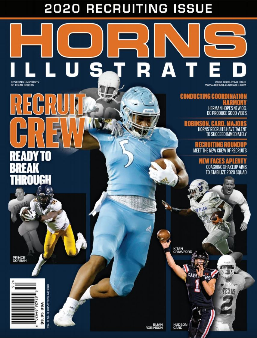 Horns Illustrated Spring 2020 Recruiting Issue