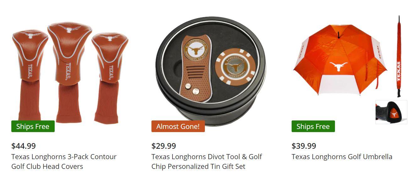Official Texas Longhorns Golf Accessories from Fanatics
