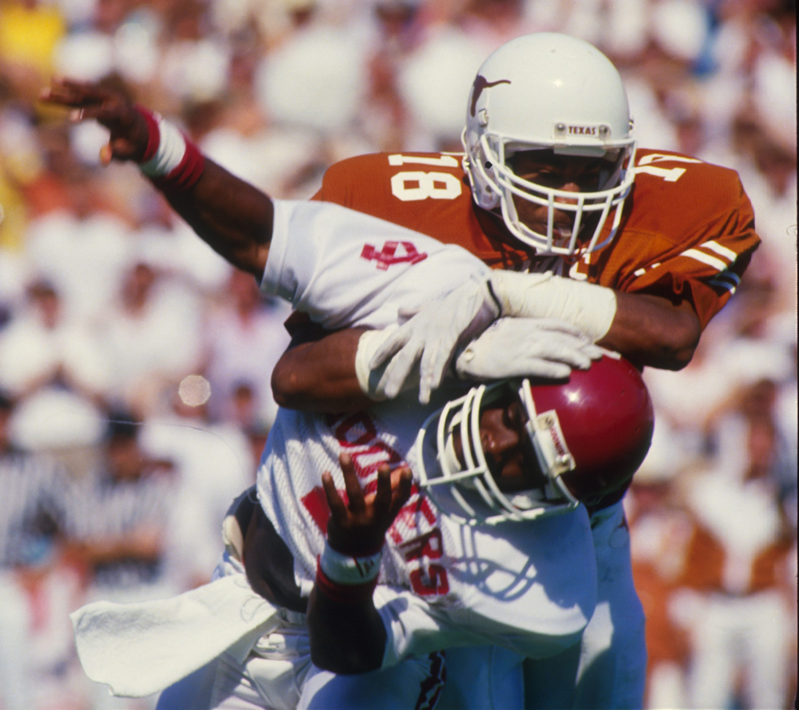 Richard Stanley #18 Texas Longhorns Football
