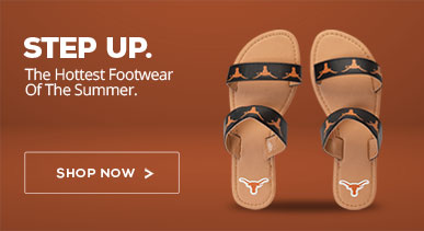 Texas Longhorns Summer Footwear