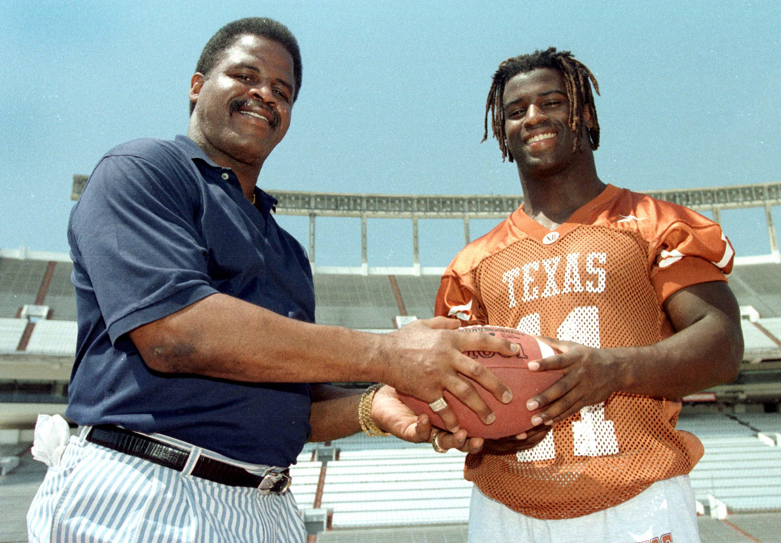 Earl Campbell and Ricky WIlliams