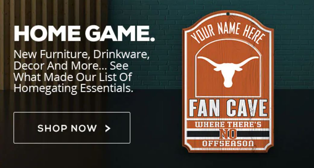 Texas Longhorns Fan Cave