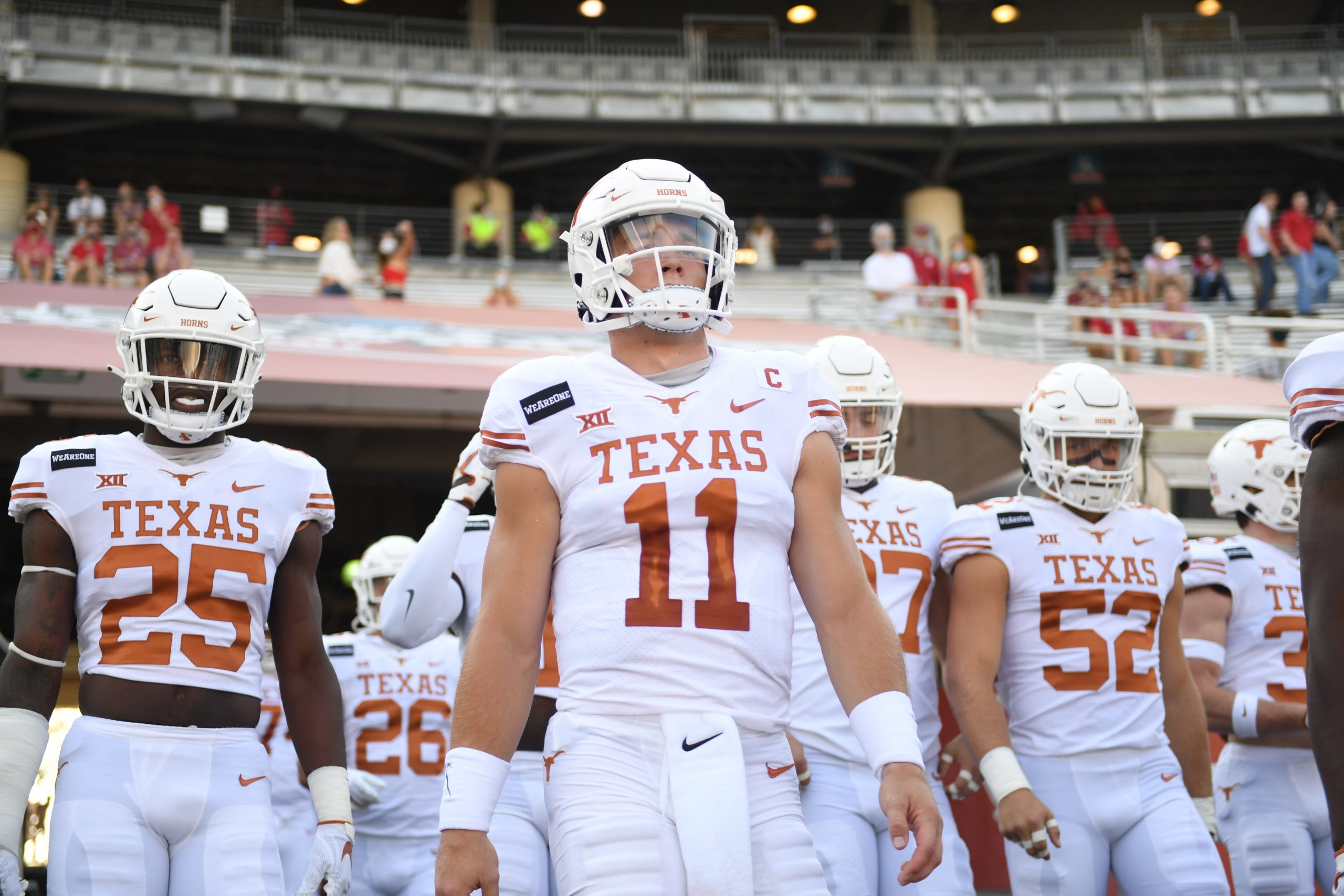Sam Ehlinger Red River Showdown 2020