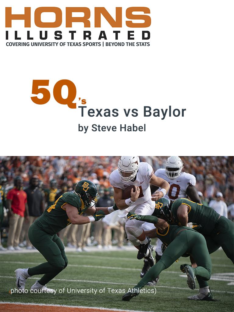 Texas vs Baylor 5Q's