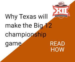 Texas makes Big12 Championship game