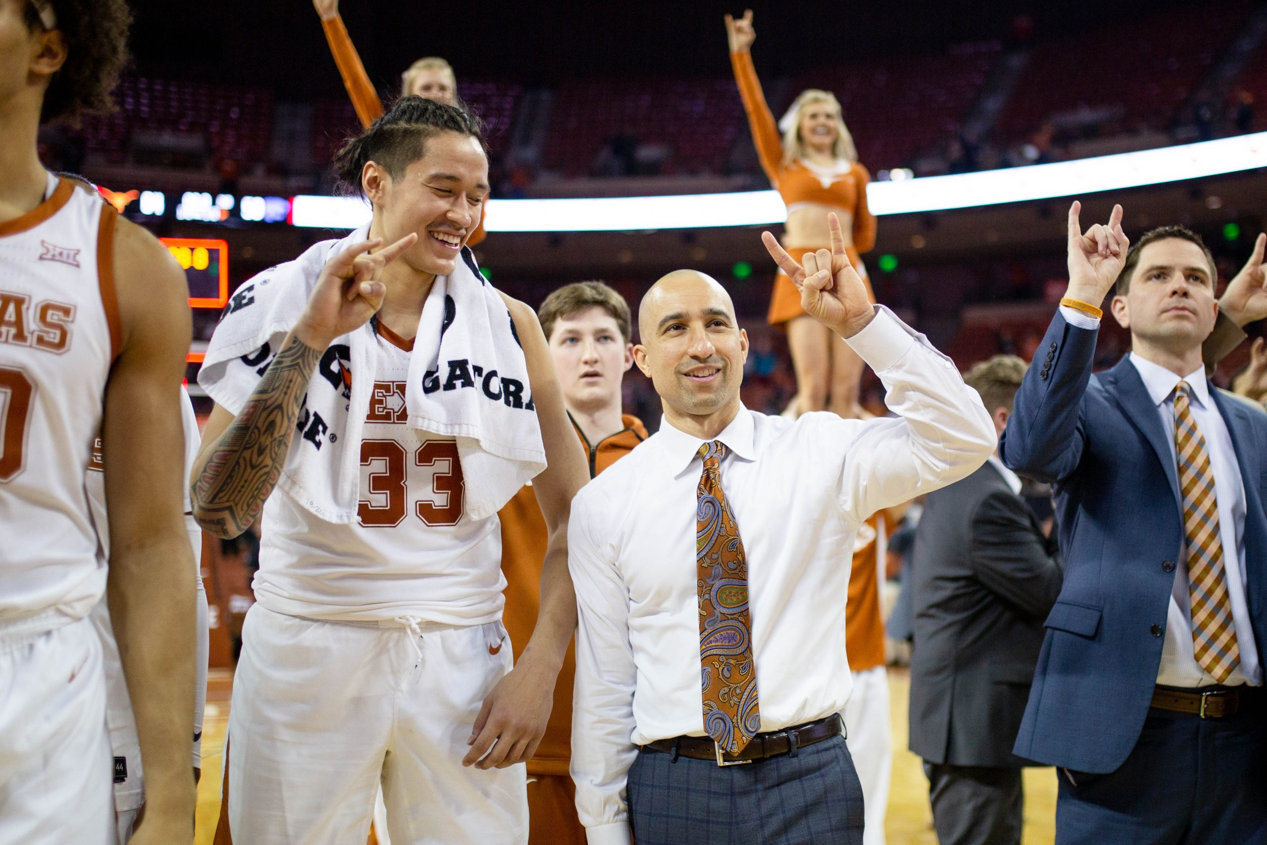 Texas Longhorns Mens Basketball Coach Shaka Smart