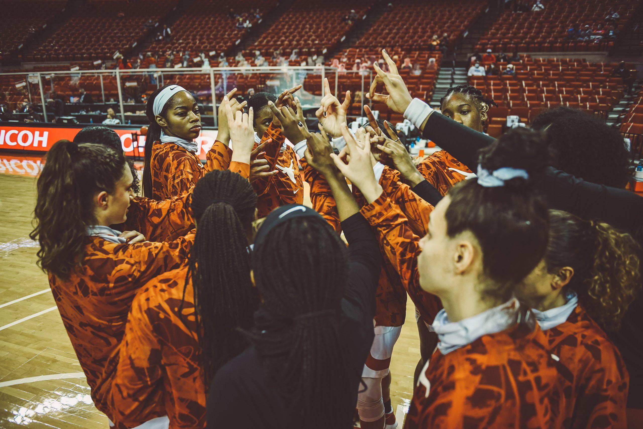 Texas Womens Basketball Team