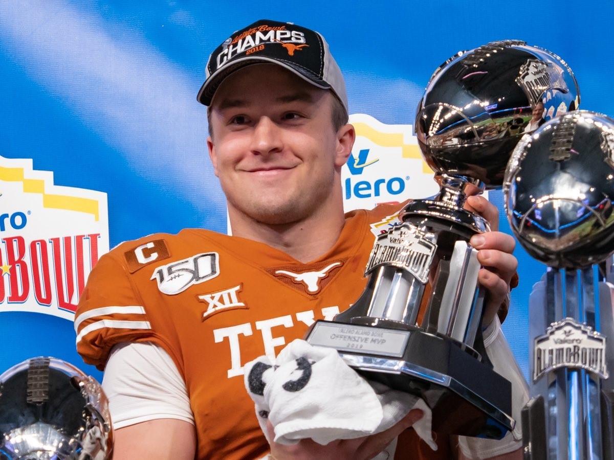 Sam Ehlinger 2019 Alamo Bowl MVP