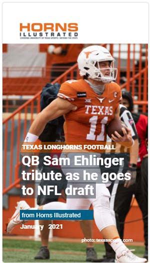 Sam Ehlinger Tribute
