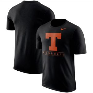 Texas Longhorns Nike Baseball Legend Team Issue Performance T-Shirt - Black