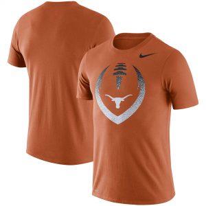 Texas Longhorns Nike Football Icon Performance T-Shirt - Texas Orange