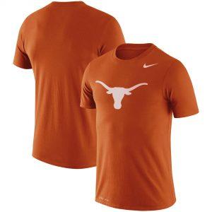 Texas Longhorns Nike Legend Logo Performance T-Shirt - Texas Orange