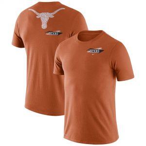 Texas Longhorns Nike Performance Cotton Fan GFX T-Shirt - Texas Orange