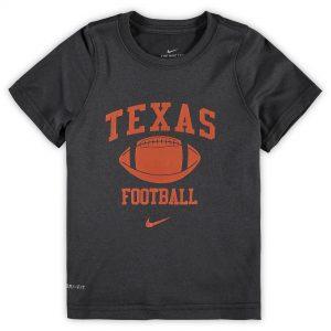 Texas Longhorns Nike Preschool Retro Lockup Legend Performance T-Shirt - Anthracite