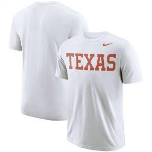 Texas Longhorns Nike School Wordmark Performance T-Shirt - White