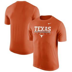 Texas Longhorns Nike Sport Drop Soccer Legend Performance T-Shirt - Texas Orange
