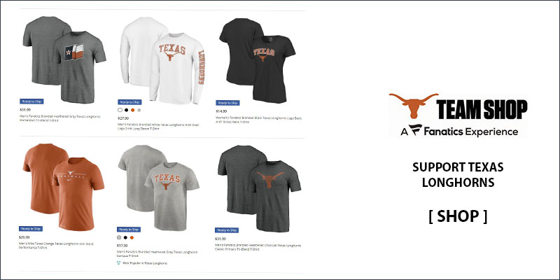 Texas Longhorns T-Shirts